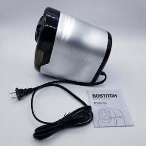 Bostitch Quiet Sharp Glow Electric Pencil Sharpener Classroom Office Eps11hc