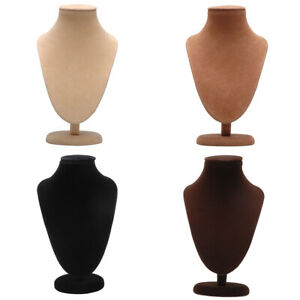 8pcs Store Mannequin Bust Jewelry Necklace Pendant Earring Display Stand Holder