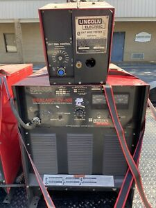 Lincoln Idealarc Cv400 Ln 7 Feeder Mig Welder