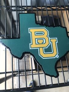 Baylor University Green Texas Shape 2 Hitch Receiver Cover