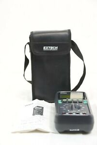 Extech 381270 Multiscope With Case Digital 128 X 64 Pixel Graphic Lcd Auto Off