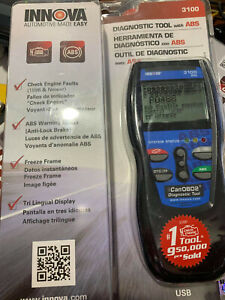 Innova 3100 Diagnostic Scan Tool Code Reader W Abs Canobd2