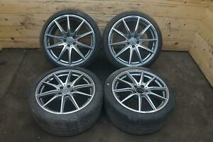 Set 19x9 20x11 Inch Wheel Rim Tire 1904011000 Oem Mercedes Amg Gt Gts C190 16 17