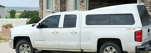 A R E Topper Camper Shell Fits Chevy Double Cab Years 2014 2018