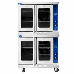 Commercial Double Convection Oven Gas Nsf Bakery Depth Energy Star Atco 513b 2