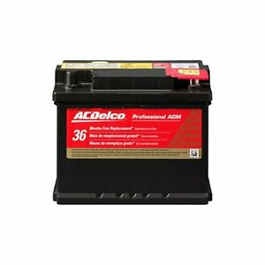 Ac Delco 47agm Acdelco Professional Agm Automotive Bci Group 47 Battery