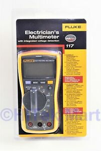 Fluke 117 Electrician s Multimeter With Non contact Brand New