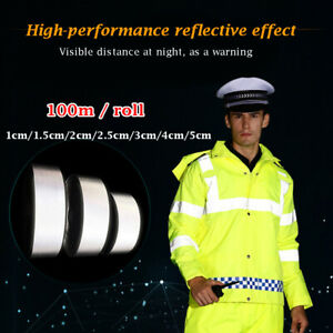 Fabric Warning Reflective Tape Thermal Transfer Clothing Stickers Vinyl Film