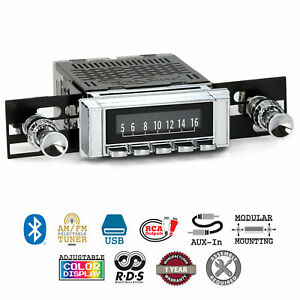 Retrosound 1963 64 Chevrolet Impala Hermosa Radio Am Fm Bluetooth Usb