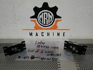 Ledex 129732 026 Rotary Solenoids With Brackets Used With Warranty lot Of 2