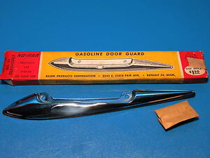Nos No Mar Stainless Gas Door Guard Trim 1948 1949 Olds Series 98