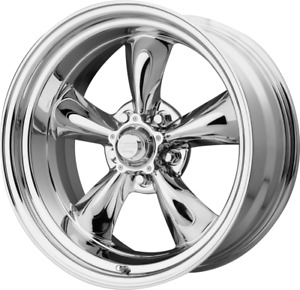4 Vn515 Torq Thrust Ii Wheels 22x9 22x11 Chevy C10 Staggered Polished Set Of 4
