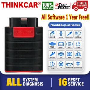 2021 Thinkcar Thinkdiag Car Obd2 Bluetooth Bidirectional Ecu Coding Scanner Tool