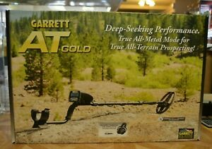 Garrett At Gold Nugget Metal Detector 100 Water Submersible Brand New Free Ship