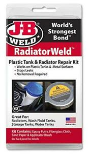 J b Weld 2120 Radiator And Plastic Repair Kit