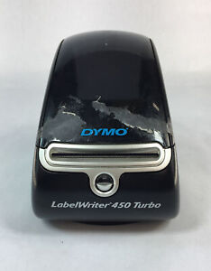 Dymo Labelwriter 450 Turbo Thermal Label Printer Used Power Tested Only