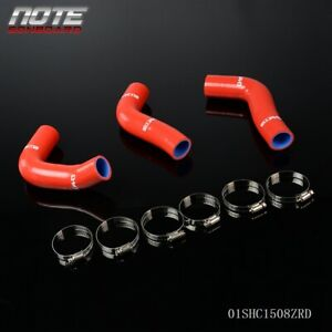 For Mazda Miata Mx5 1 8l Na8c Bpze 94 97 Red Silicone Radiator Hose Clamps