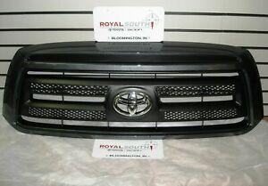 Toyota Tundra Rock Warrior Slate Gray 1f9 Painted Grille Genuine Oe Oem