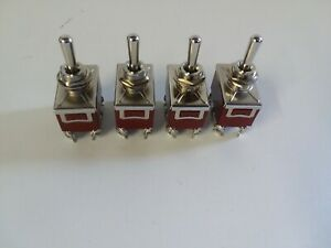 Lowrider Hydraulics Air Ride Suspension Air Bags 6 Prong Switch4 Pcs Momentary