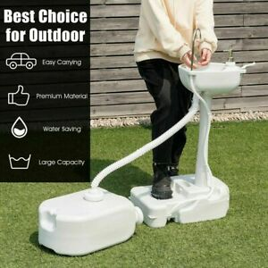 Outdoor Events Portable Hand Wash Station Basin Stand With 4 5 Gallon Tank