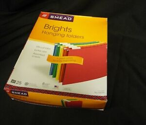 Smead 64059 Brights Hanging Letter Size Folder