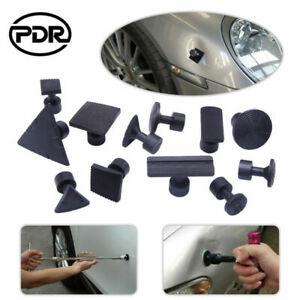 12pcs Us Pdr Paintless Dent Puller Glue Tabs Repair Tools Body Kits Removal Set