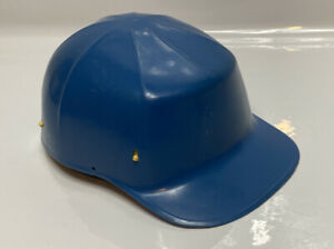 Vintage Blue Ed Bullard Mk 2 Hard Boiled bump Cap Hard Hat W Liner Usa