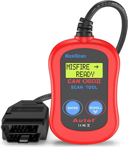 Autel Ms300 Universal Obd2 Scanner Car Code Reader Turn Off Check Engine Light