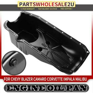 Engine Oil Pan For Chevy Corvette Impala Malibu G30 Cadillac Eldorado Gmc C3500