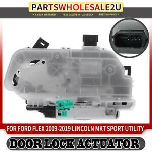Rear Left Side Door Latch Lock Actuator For Ford Flex Lincoln Mkt 2010 2011 2019