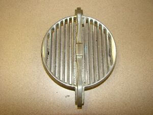 Vintage 1942 1946 1947 1948 1949 1950 Bentley Chrome Horn Vent Grille Grill