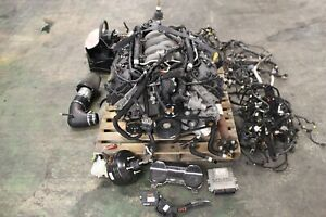 2017 Ford Mustang Gt Coyote 5 0l Oem Engine Manual Transmission Swap Kit 21k
