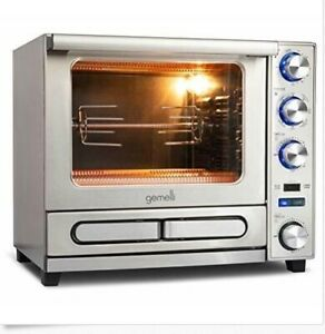 Gemelli Twin Oven Convection Oven With Built in Pizza Drawer Brand New