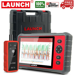 Launch Obd2 Scanner Crp909e Full Systems Scan Tool 15 Reset Function Code Reader