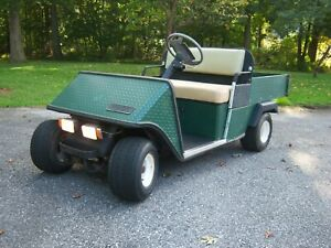 E z go Gxi 800 Gas Powered Utility Cart Golf Cart