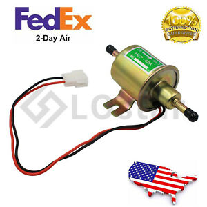 Gas Diesel Inline Low Pressure Electric Fuel Pump 12v Bhep 02a For Nissan Altima