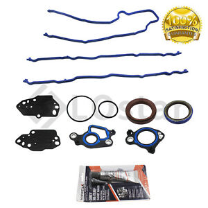 New Timing Cover Gasket For 04 14 Ford F150 F250 F350 Lincoln 5 4l V8 Jv5051