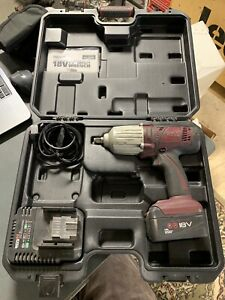 Matco Mcl2012iwk 1 2 1 2 Cordless Impact Kit Gun Tool Battery Charger