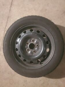 4 Used Goodyear Ultra Grip Ice Wrt 205 55r16 Winter Tires Includes Wheels 5x114