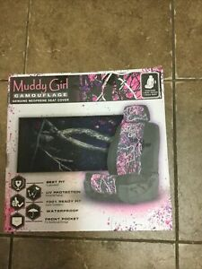 Muddy Girl Pink Camo Seat Cover Camouflage