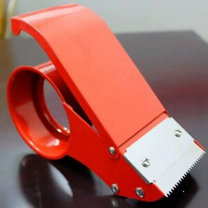 Packing Tape Dispenser Easy mount Tape Gun Packaging Sealing Cutter Handheld 1pc