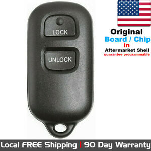 1x Oem Keyless Entry Remote Control Key Fob Transmitter For Toyota Gq43vt14t