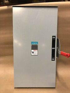 Siemens Dtgnf224nr 200 Amp 240v Double Throw Manual Transfer Switch 3r