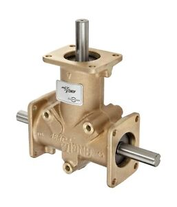 Andantex R3350 Anglgear Right Angle Bevel Gear Drive Universal Mounting Two