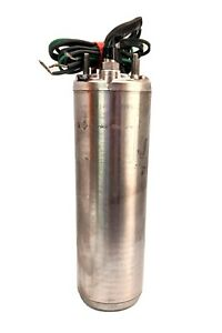 Franklin 2445089003s 1 Hp Submersible Well Pump Motor 230v 4 In Super Stainless