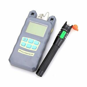 Fiber Optical Power Meter 30km Aluminum Visual Fault Locator Fiber Optic Cabl