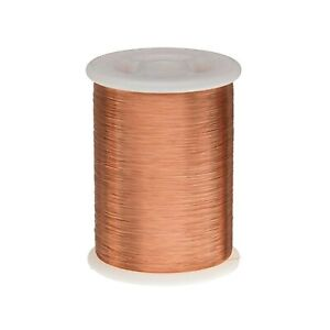 Remington Industries 40snsp 40 Awg Magnet Wire Enameled Copper Wire 1 0 Lb