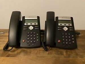 Polycom Soundpoint Ip 331 Voip Business Phone W Base lot Of 2