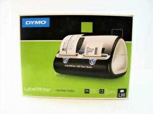 New Dymo Labelwriter 450 Twin Turbo Label Thermal Printer 71 Labels Per Minute