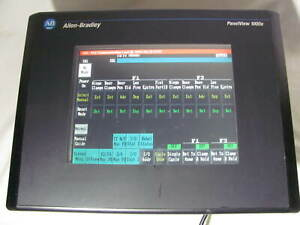Allen Bradley Panelview 1000e Color Touch Screen 2711e t10c6 x Good Shape